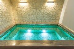 Interior, banheira de hidromassagem Fotografia de Stock