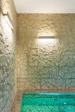 Interior, banheira de hidromassagem fotos de stock royalty free