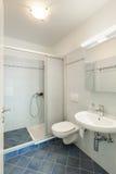 Interior, banheiro Foto de Stock Royalty Free