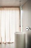 Interior, banheiro do detalhe Fotos de Stock Royalty Free