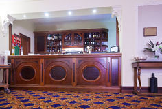 Interior of bar with counter Royalty Free Stock Image
