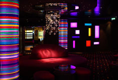 Interior of the bar-disco Royalty Free Stock Photo