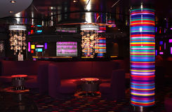 Interior of the bar-disco Royalty Free Stock Photos