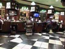 Interior of a barber shop. Stock Photos