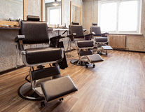 Interior of a barbershop Stock Photography