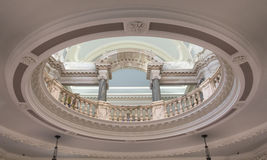 Interior baroque architecture Stock Photo