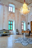 Interior of baroque castle wolfsthurn Royalty Free Stock Images