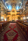 Interior of baroque church of peace in Swidnica Royalty Free Stock Image