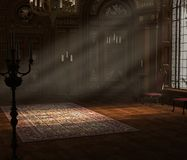 Interior barroco Foto de archivo libre de regalías
