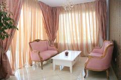 Interior barroco do escritório do estilo Fotografia de Stock