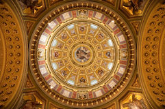 Interior of basilica Royalty Free Stock Photos