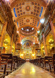 Interior of the Basilica de la Merce (our Lady of Mercy). Barcelona. Spain. Royalty Free Stock Images