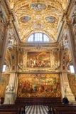 Interior of Basilica di Santa Maria Maggiore Royalty Free Stock Photography