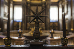 Interior of the Basilica di Santa Maria Maggiore in Rome, Italy. Stock Photography