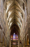 Interior of Basilica in Echternach Royalty Free Stock Photography