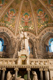 Interior of basilica Notre Dame de Fourviere Royalty Free Stock Images