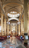 Interior of Basilica of Our Lady in Licheń, Poland Royalty Free Stock Photography