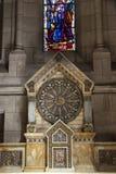 Interior of Basilica Sacre Coeur Stock Image