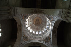 Interior of the Basilica of Saint-Martin, Tours Royalty Free Stock Photography