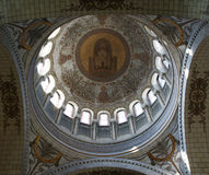 Interior of the Basilica of Saint-Martin, Tours, France Royalty Free Stock Photography