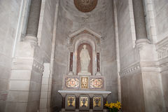 Interior of the Basilica of Saint-Martin, Tours, France Royalty Free Stock Images