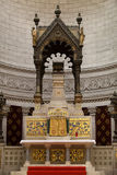Interior of the Basilica of Saint-Martin, Tours Royalty Free Stock Photos