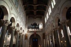 Interior of the Basilica of Saint-Martin, Tours, Royalty Free Stock Image