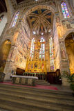 The interior of the Basilica of Santa Croce Royalty Free Stock Photos