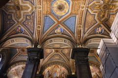 Rome church Royalty Free Stock Photography