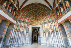 Interior of Basilica of St. Servatius. Royalty Free Stock Photography