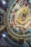 Interior of Basilica in Valencia, Spain Stock Photography