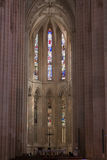 Interior of Batalha, Portugal Royalty Free Stock Images