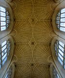 Interior from Bath cathedral. And architecture Stock Photography