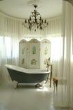Interior of bathroom. A part of interior of bathroom Stock Photography