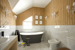 Interior of a bathroom Royalty Free Stock Photo