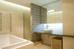 Interior of bathroom. Interior of a modern bathroom Stock Photos