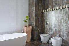 Interior of bathroom Royalty Free Stock Image