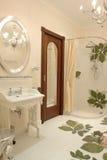 Interior of bathroom. A part of interior of bathroom Stock Image