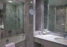 Interior of bathroom Royalty Free Stock Image