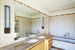 Interior, bathroom Stock Image