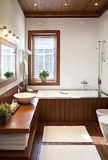 Interior of bathroom Stock Photos