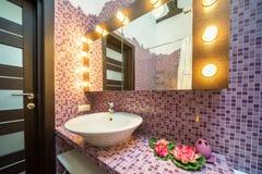 Interior of bathroom Royalty Free Stock Photography