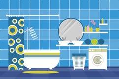 Interior bathroom Stock Image