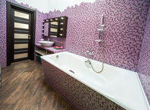 Interior of bathroom Stock Photo