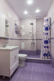 Interior of a bathroom with WC Stock Photo