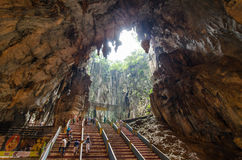 Interior of the Batu Caves Kuala Lumpur,Malaysia Stock Photo