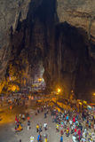 Interior Batu Caves, Kuala Lumpur Royalty Free Stock Photography