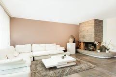 Interior, beautiful apartment Stock Images