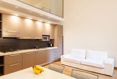 Interior, beautiful apartment Royalty Free Stock Images