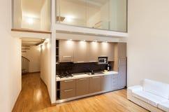 Interior, beautiful apartment Royalty Free Stock Photography